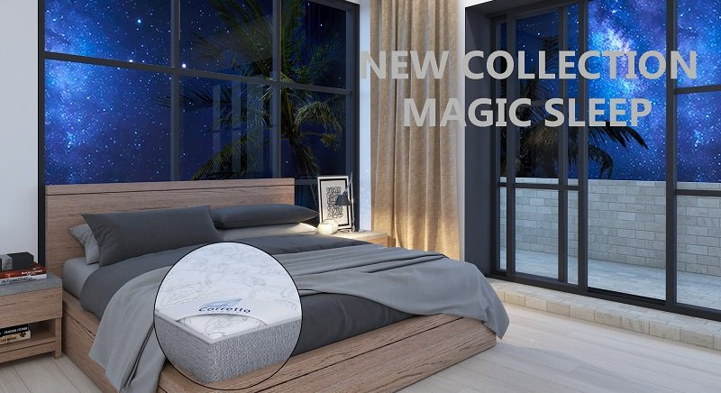 Матрасы Corretto Magic Sleep купить в Нерюнгри